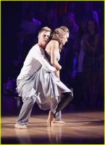 Derek Hough & Amy Purdy on ABC's Dancing with the Stars